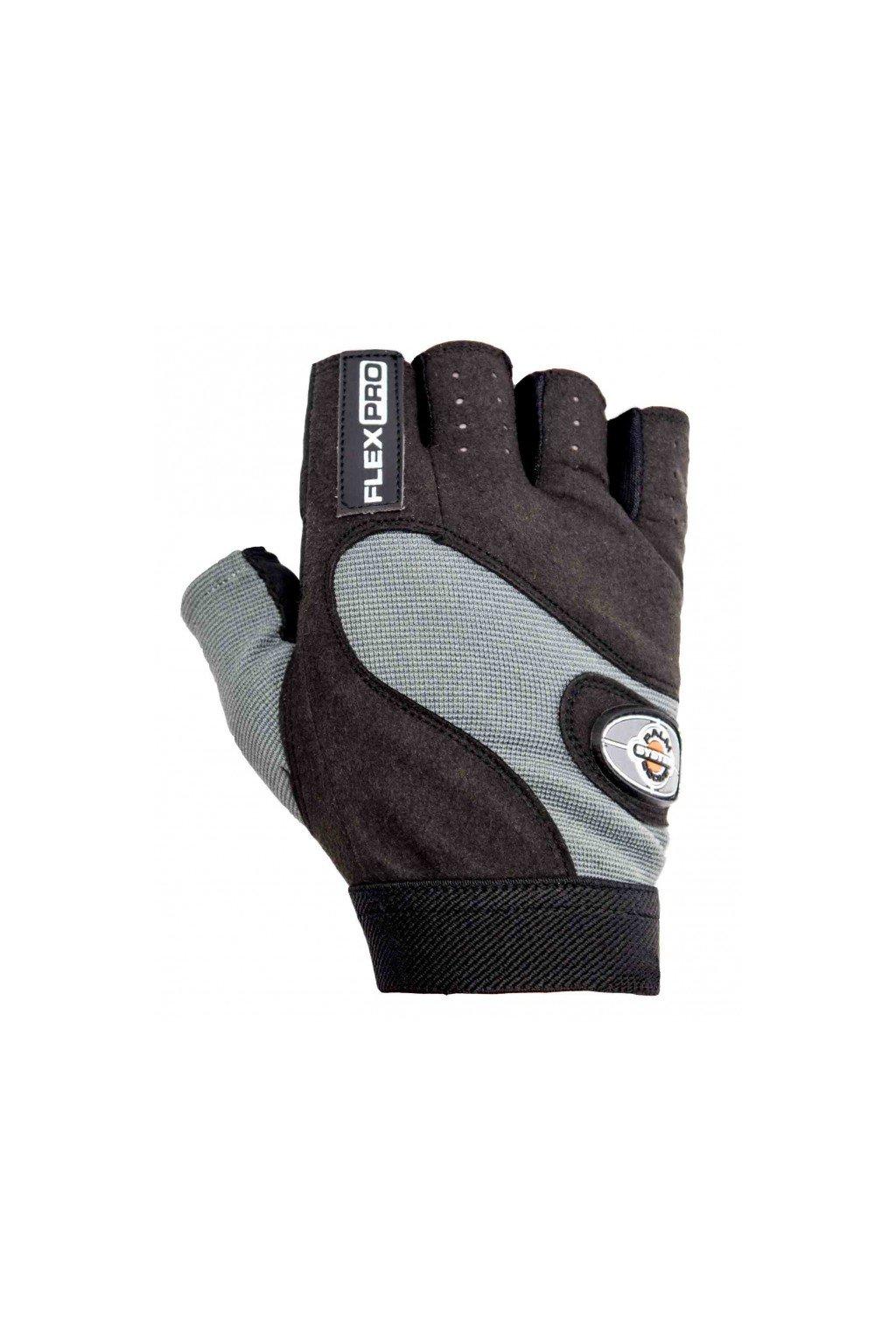 POWER SYSTEM fitness rukavice FLEX PRO sivé