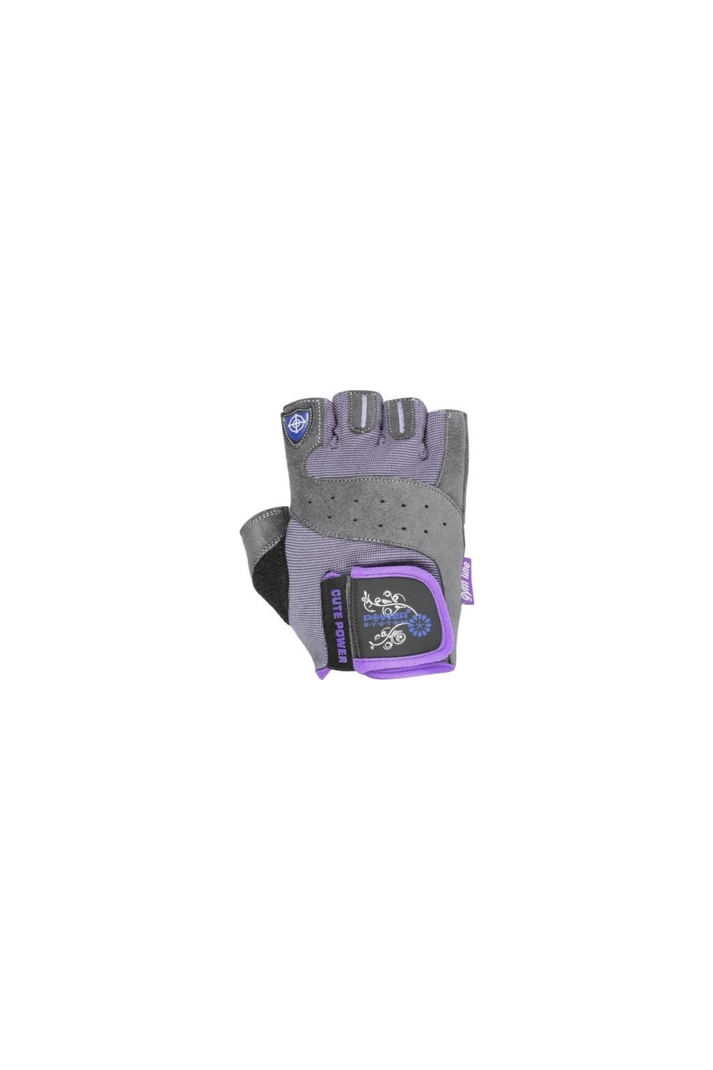 329652 power system fitness rukavice cute power fialova farba