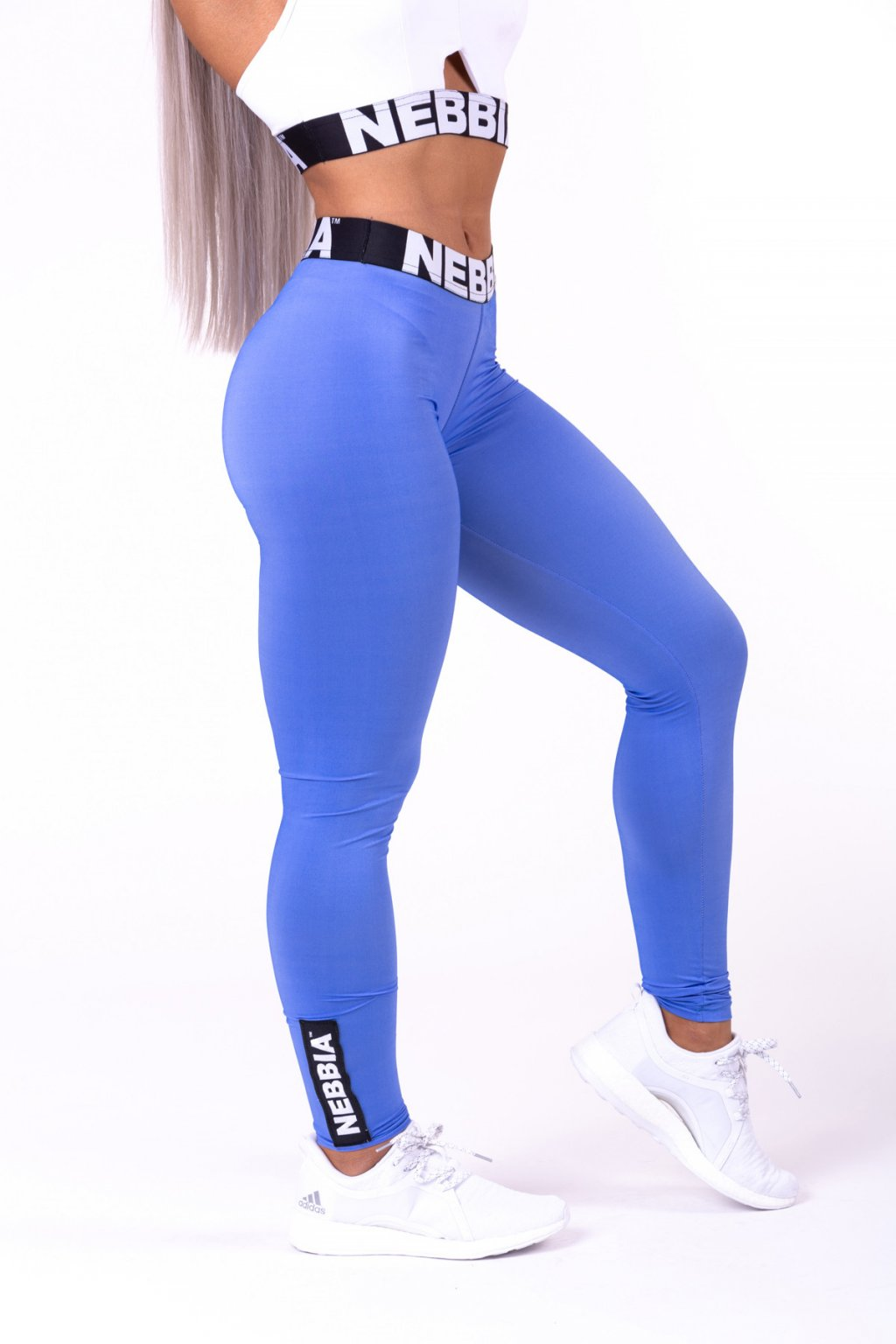 NEBBIA Scrunch butt sport legíny 691 modré