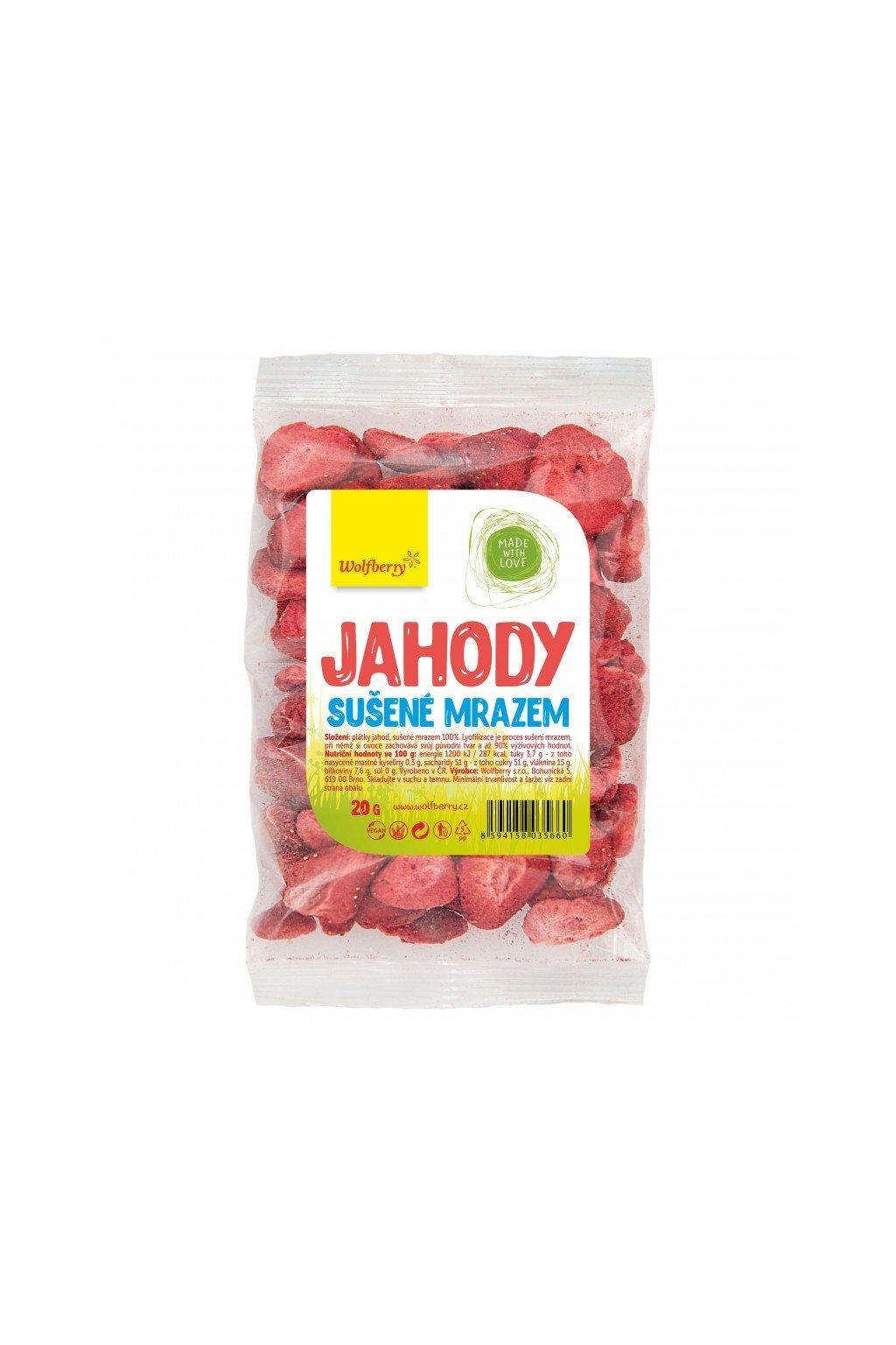 jahody 20 g wolfberry