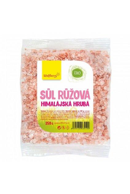 himalajska sol ruzova hruba 250 g wolfberry