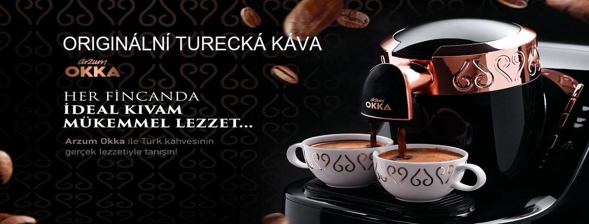 Originální Turecká káva