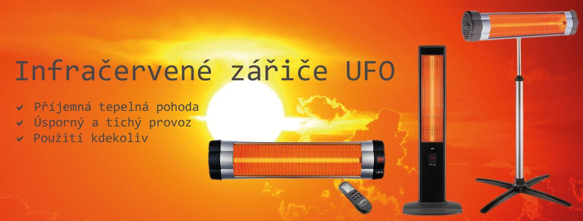 Infrazářiče UFO