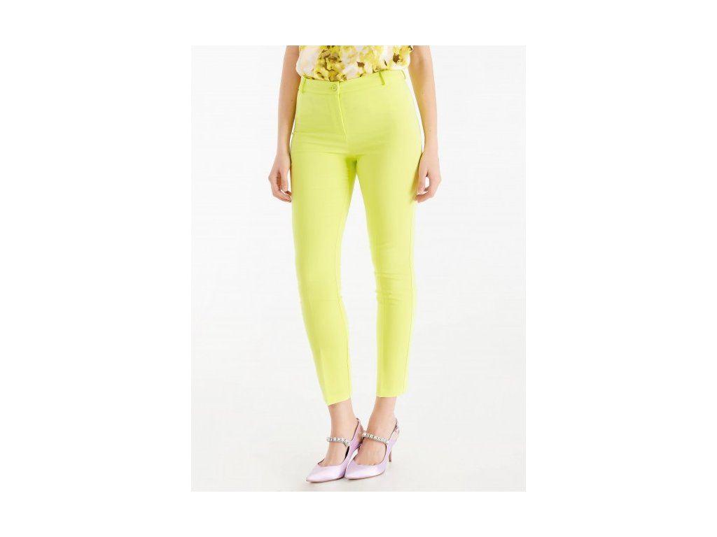 solid color pants rinascimento cfc0103166003 in trousers