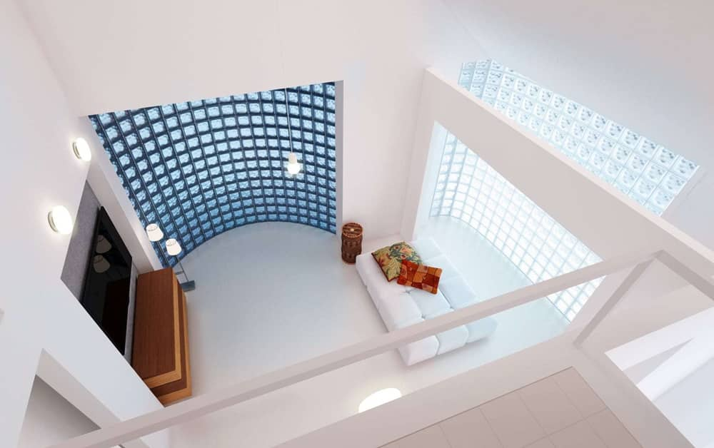 Luxfery v interiéru