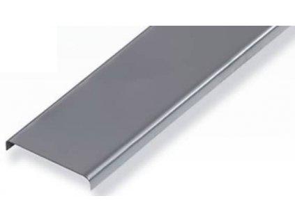 Zakončovací profil pro 11 luxfer, hliník