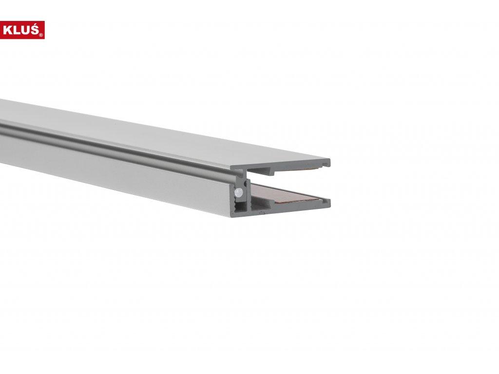 Hliníkový profil KRAV 810 anoda 1m Klusdesign