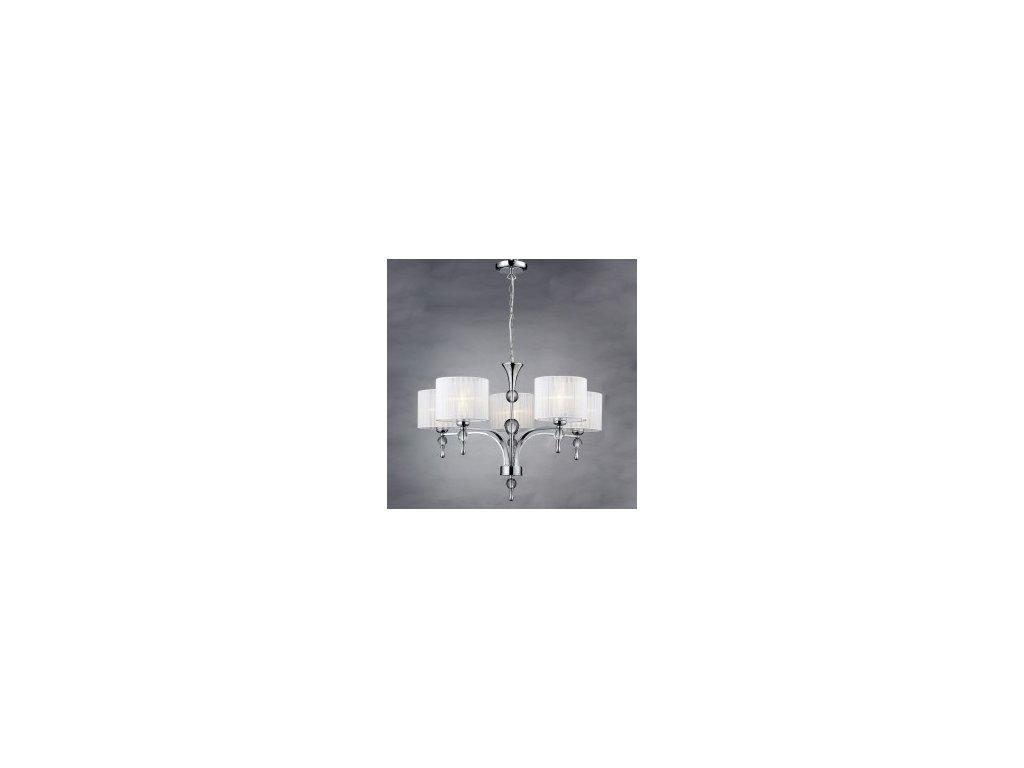 Závěsné svítidlo IMPRESS 5 bílé Azzardo 1976-5P White