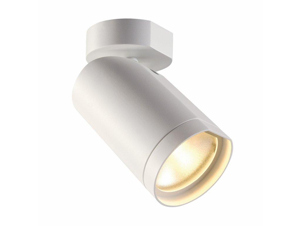 SLV bodové kulaté svítidlo BILAS LED s rozetou, bílá