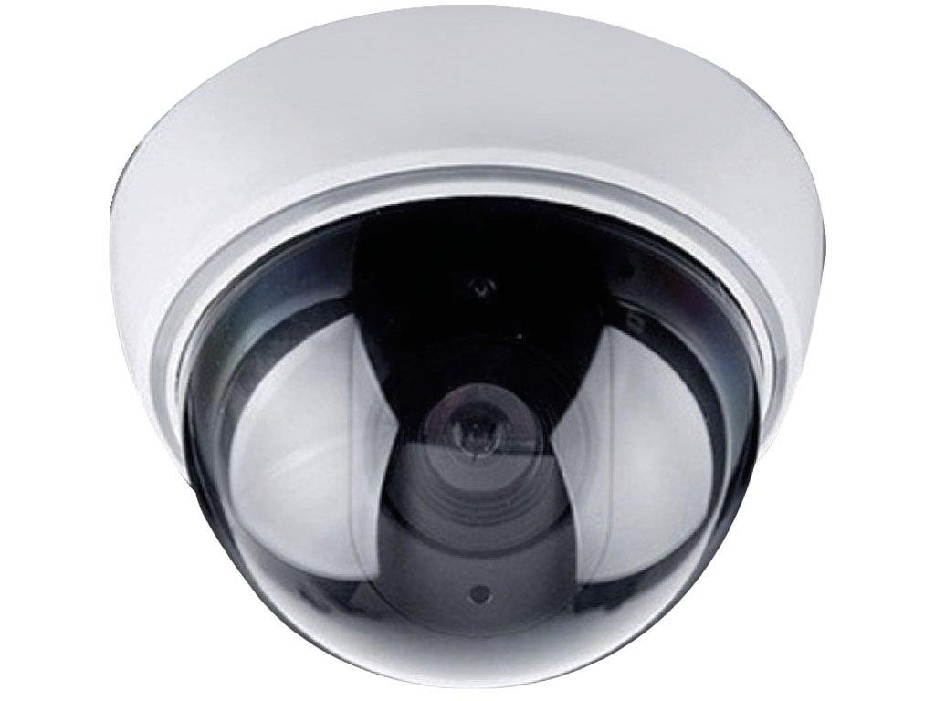 Maketa bezpečnostní kamery, na strop, LED dioda, 3 x AA Solight 1D41