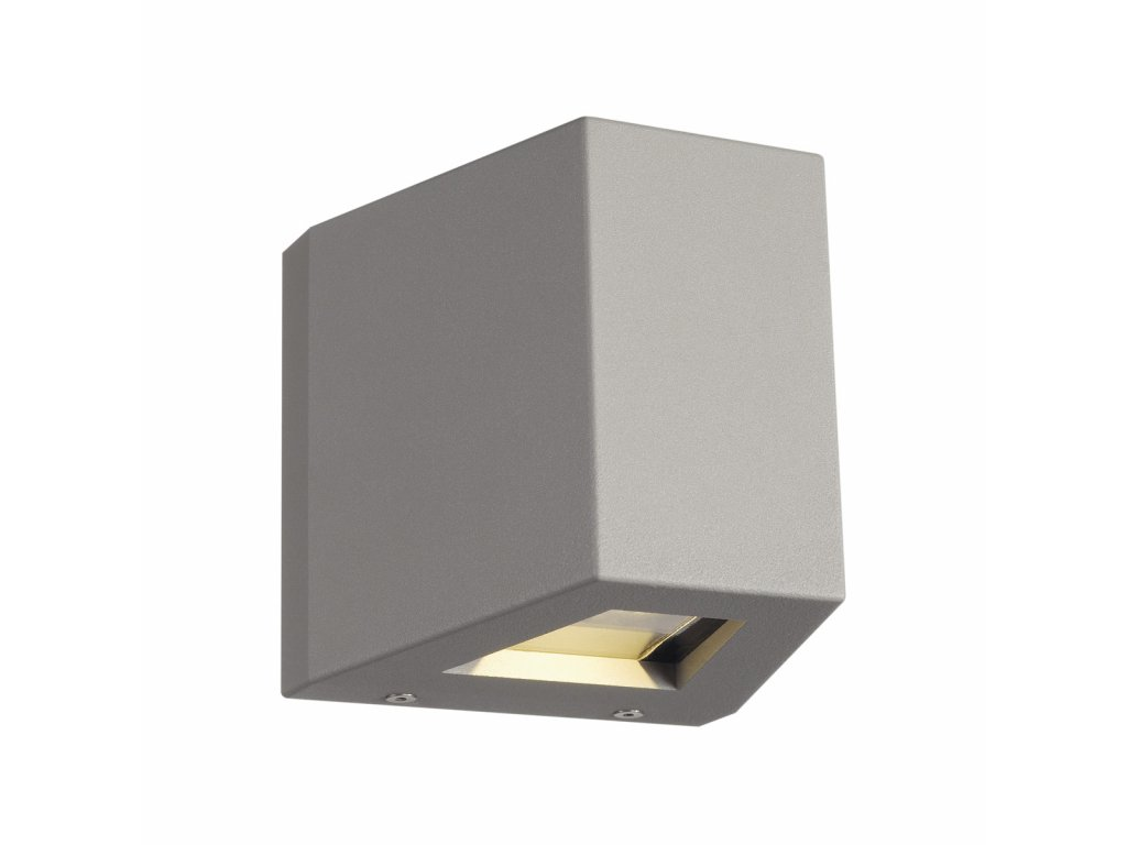 Nástěnné svítidlo OUT BEAM LED, Beam up/Flood down, stříbrošedé
