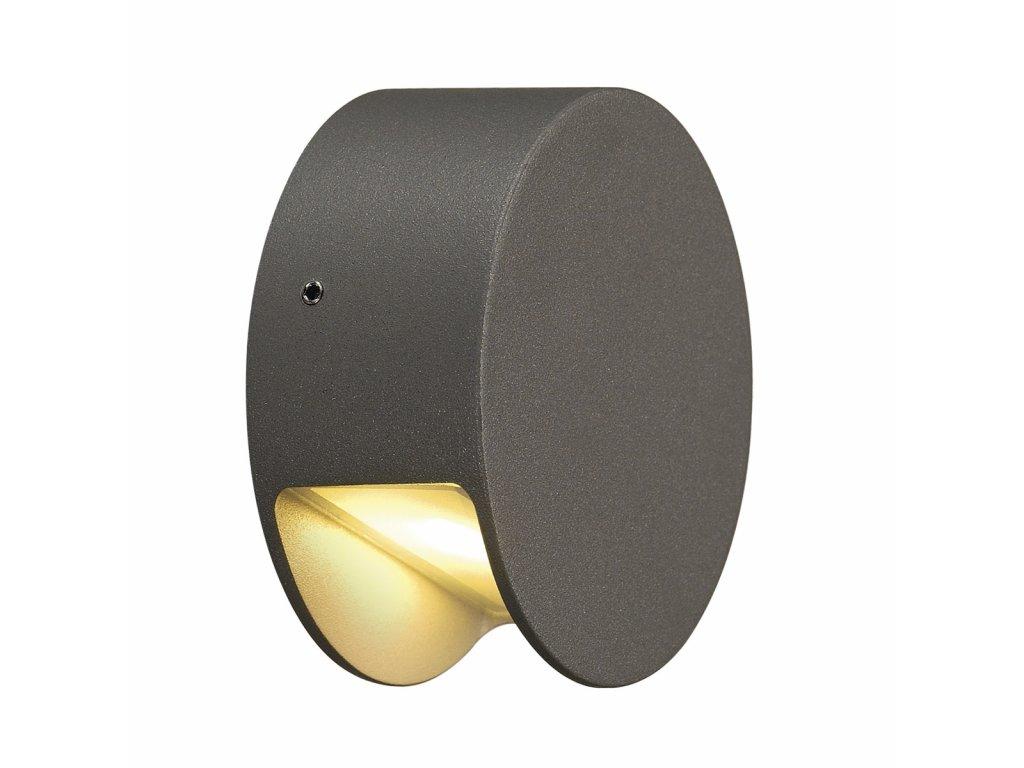 Nástěnné svítidlo PEMA LED, antracit, 3000K