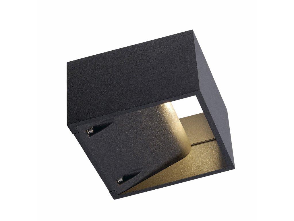 LOGS nastenna antracit 230V/480mA LED 8W IP44 3000K