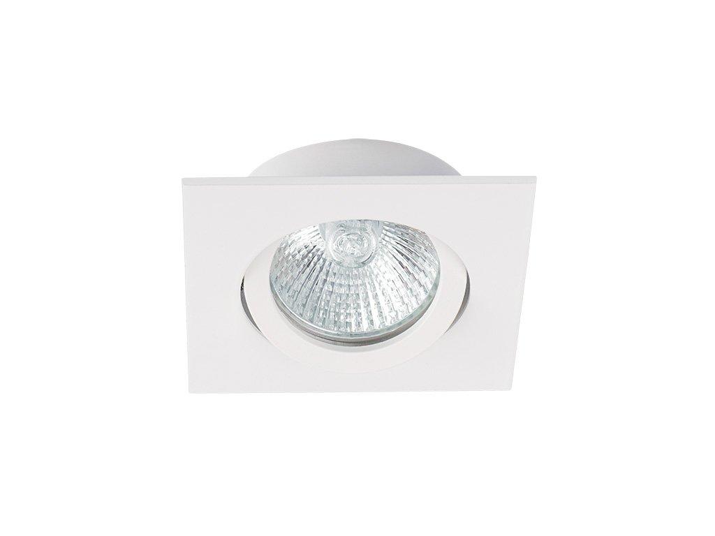 DALLA CT-DTL50-W   Podhledové bodové svítidlo bodové 82x82 bílé hranaté na MR16 12V