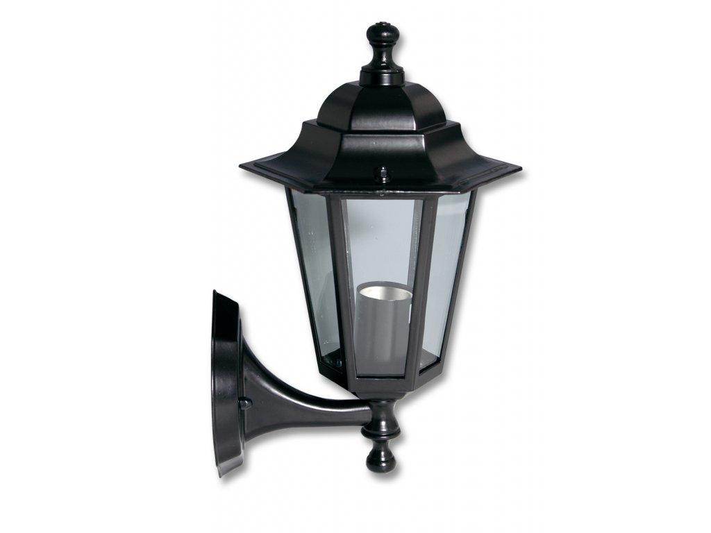 Venkovní svítidlo nástěnné lucerna KLASIK 6BM černá