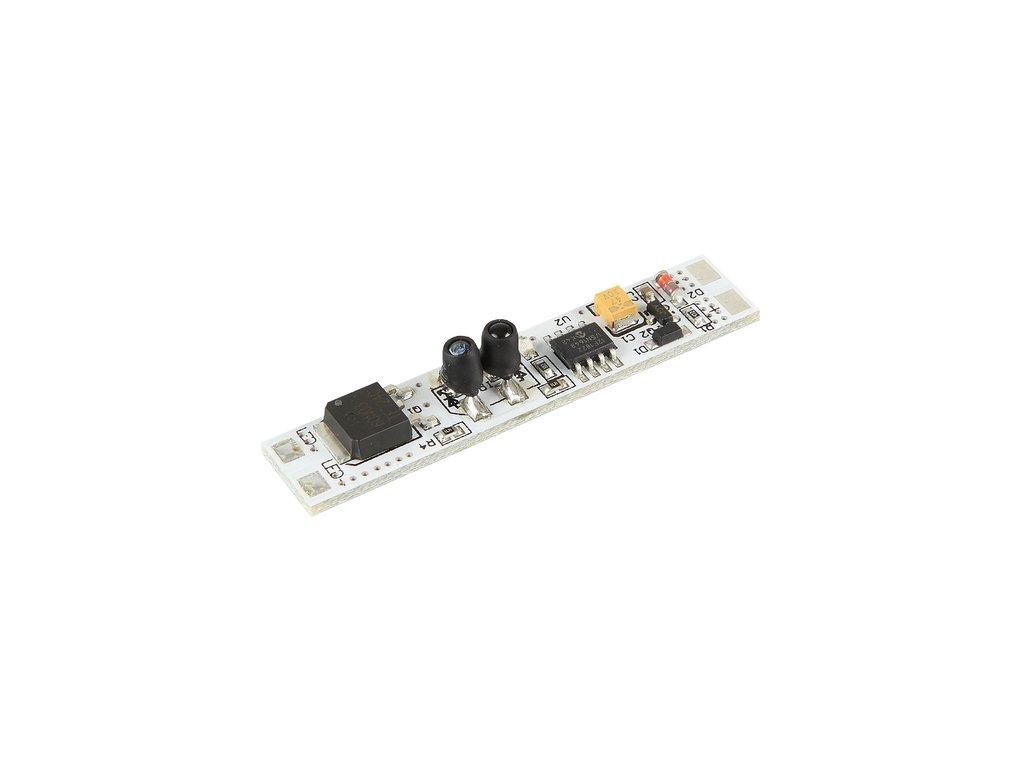 Vypínač a stmívač s pamětí do LED profilu IR typ B 10x55 mm