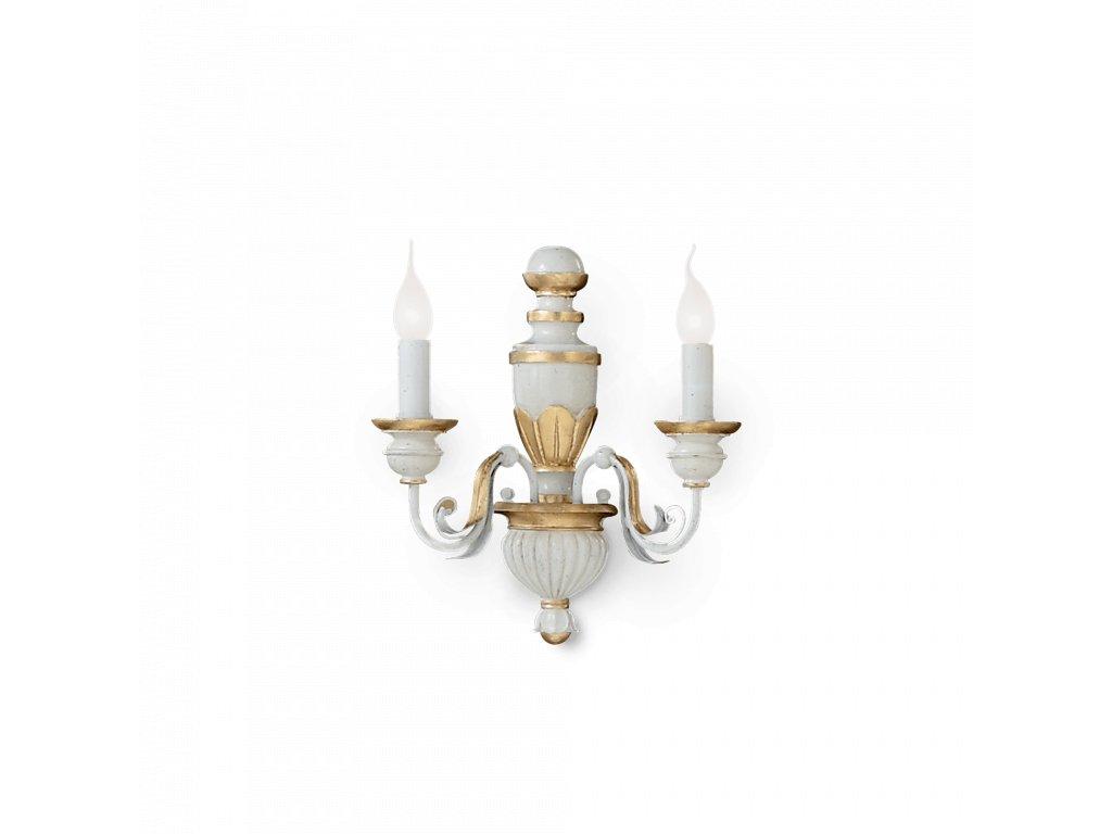 Nástěnné svítidlo Ideal Lux Firenze AP2 012902