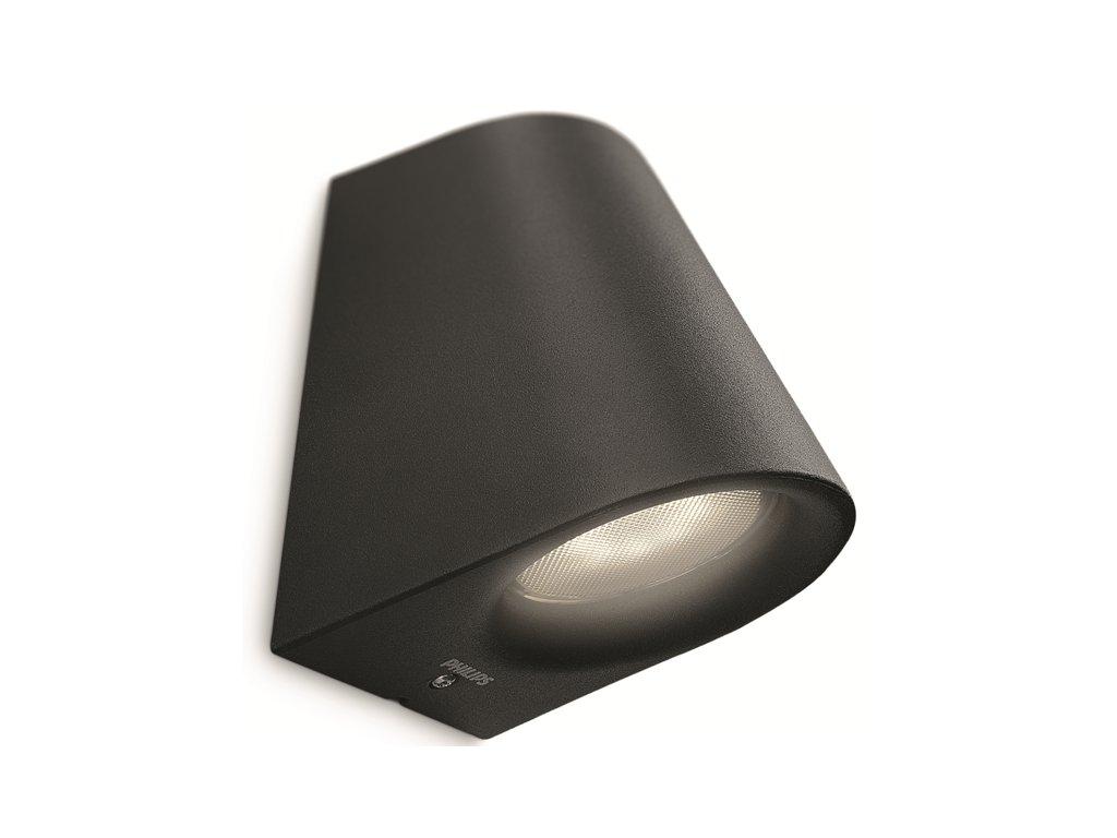 Virga SVÍTIDLO VENKOVNÍ LED 3W 270lm 2700K IP44, černá