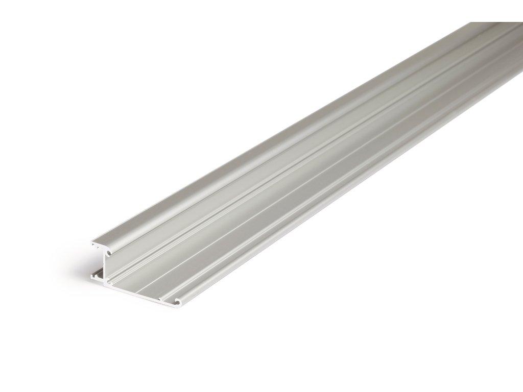 Hliníkový profil speciální WALLE12 A1 BCD/ základna anoda 1m Topmet