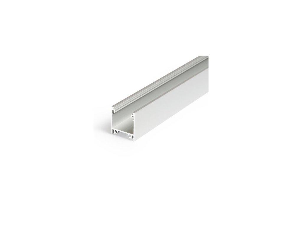 Hliníkový profil nástěnný LINEA20 EF/TY anoda 1m Topmet