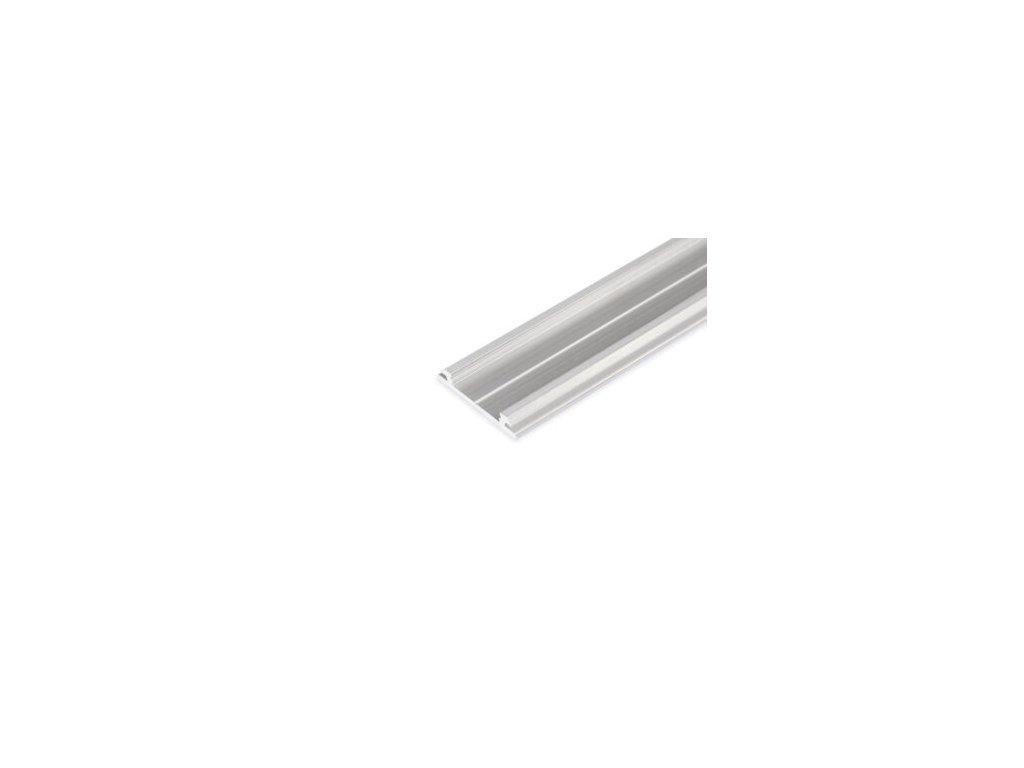 Hliníkový profil nástěnný ARC12 CD/R hliník surový 1m Topmet