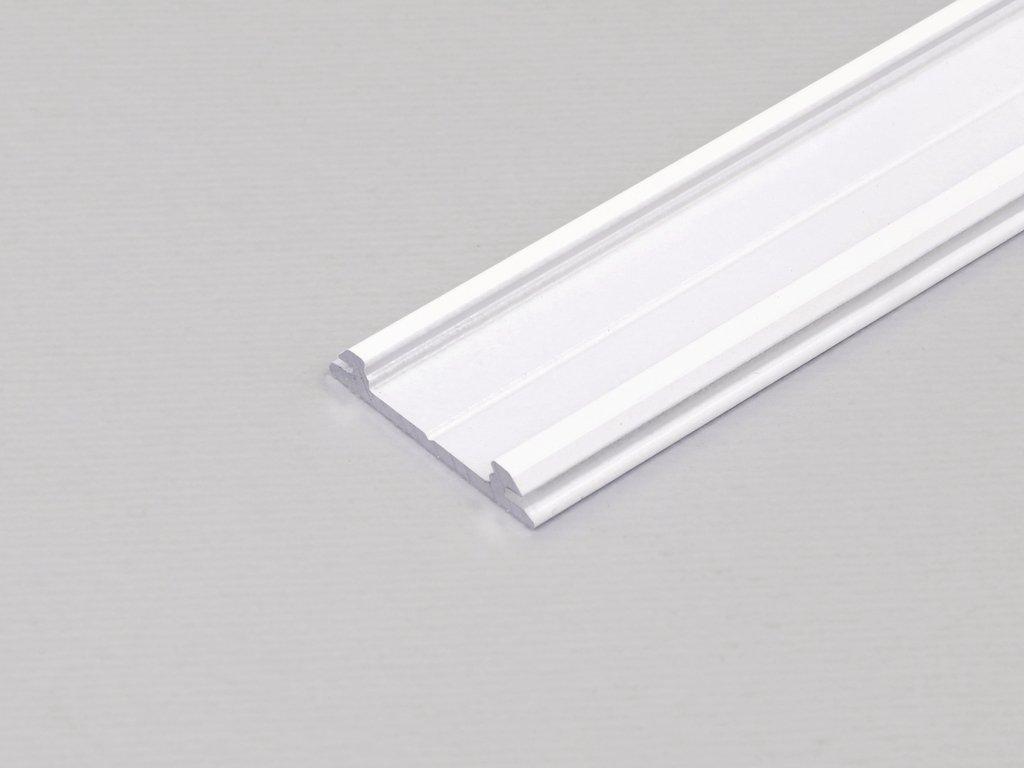 Hliníkový profil nástěnný ARC12 CD/R bílý komaxit 1m Topmet
