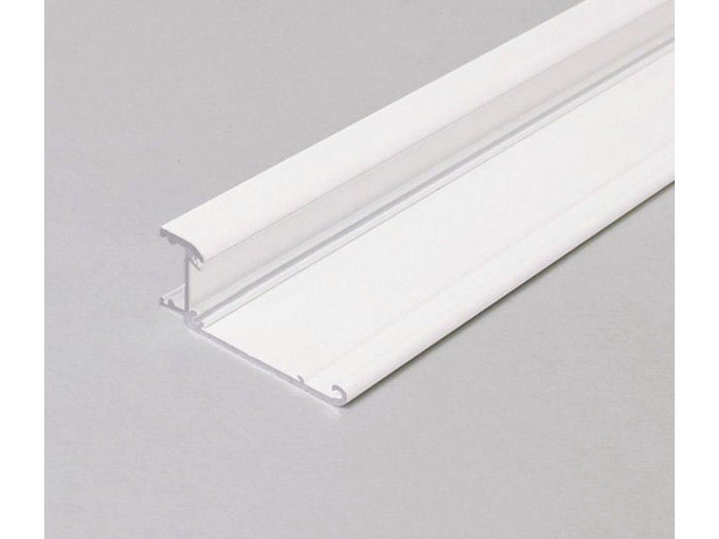 Hliníkový profil speciální WALLE12 A2 BCD/ základna bílý komaxit 1m Topmet