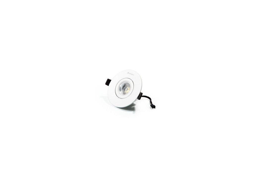 LED podhledové svítidlo Down light, 12W, 3000K, 25 úhel, 720lm stmívatelné