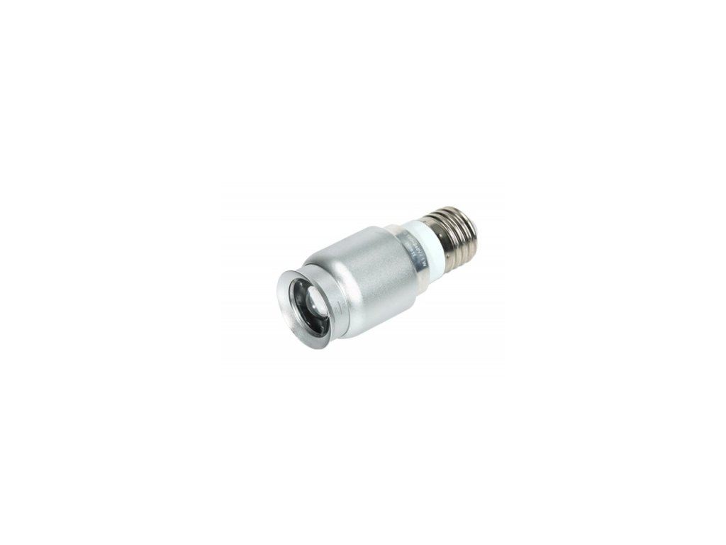 LED svítidlo Moon light E27, 3150K, stříbrná