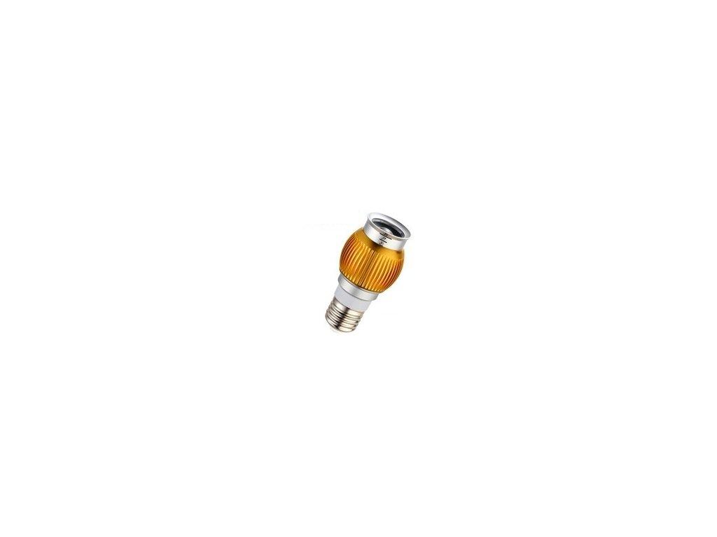 LED žárovka  Sun Flowers E27, 6000K, stříbrná