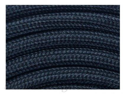 Textilní kabel černý CR3 3x0,75mm2 v metráži
