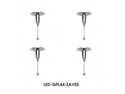 ZEUS ZAVES ke svítidlu LED-GPL44-45 Ecolite LED-GPL44-ZAVES