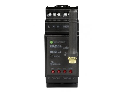 ROM-24 Rádiový přijímač 2-kanálový