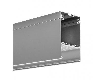 Hliníkový profil speciální GLADES pro trafo 1m Klusdesign
