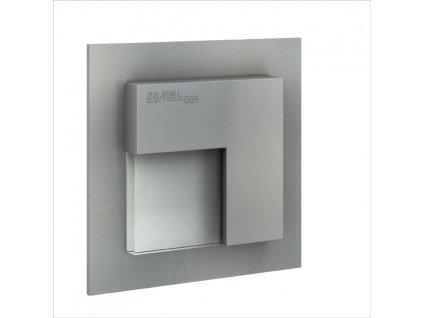 Světlo LED TIMO s rádiovým přijímačem, pod omítku, 230Vstř, IP20, HLINÍK, ČRVENÁ