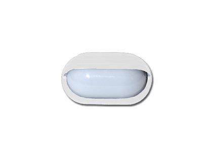 Venkovní nástěnné svítidlo NEPTUN bílé E27 IP44 Ecolite  WH2606-BI