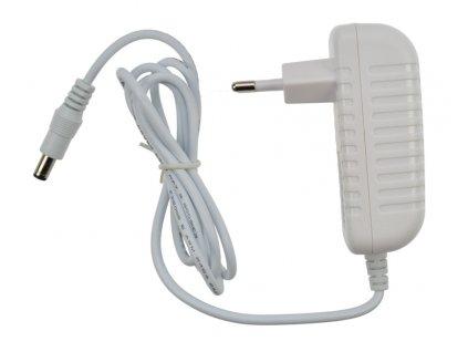 Síťový adaptér pro LED pásky, 230V - 12V, 2A, 24W, bílá barva Solight WM701