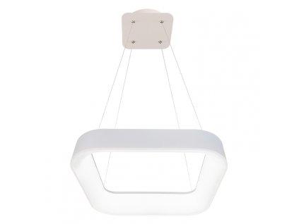 LED závěsné hranaté svítidlo NEST 40W,2600lm,CCT,3000-6500K,IP20,bílá