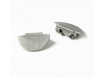 Koncovka  pro hliníkový profil (pár) W 12 Topmet