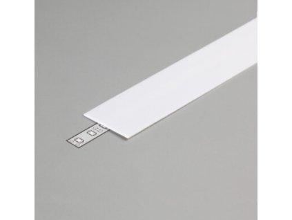 Difuzor G pro W-15 TRIPLEX - opál (mléčná), krytka vhodná i pro profil W-60 maxi 1m Topmet