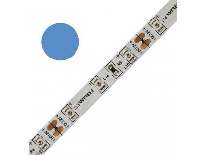 LED pásek barevný  3528 60 470nm 4,8W 0,4A modrá