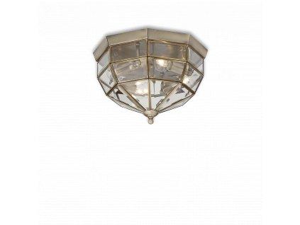 Nástěnné/Stropní svítidlo Ideal Lux Norma bronzové PL3 004426
