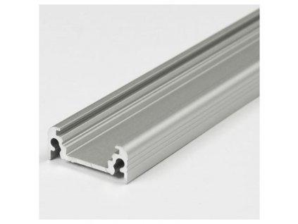Hliníkový profil nástěnný 11 SURFACE10 BC/UX, stříbrný mat 1m Topmet