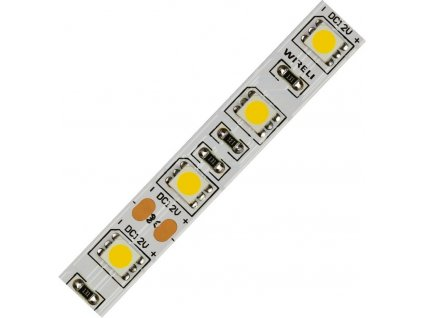 LED pásek 5050 60LED/m, 14,4W/m, 1200lm/m, 4000K neutrální barva