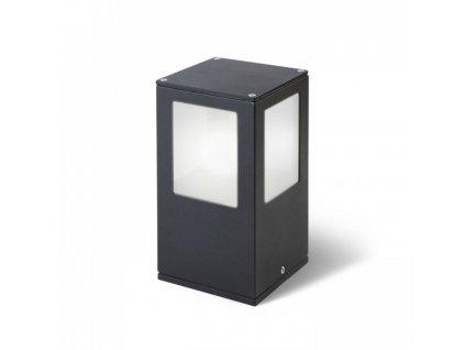 Venkovní svítidlo PONDER nástěnná černá 230V E27 18W IP44 - RED - DESIGN RENDL R10367