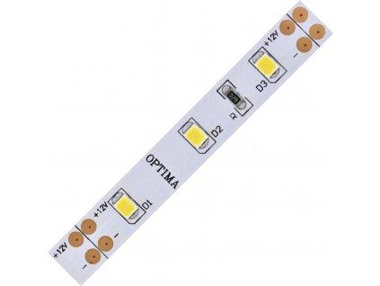 LED pásek 2835 60 Optima WW 1200lm 14,4W 1,2A 12V CRI>80 3000K
