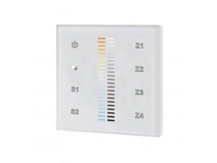 Ovladač dotykový čtyřzónový CCT inteligentní na stěnu