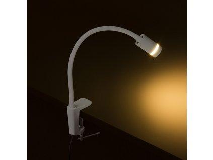 FLASH D s úchytem na desku bílá 230V LED 3W 60° 3000K - RED - DESIGN RENDL