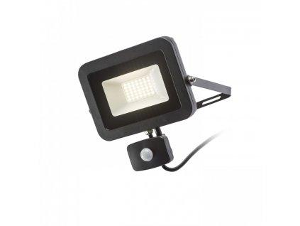 PONTA reflektor se senzorem černá 230V LED 30W 120° IP54 3000K - RED - DESIGN RENDL