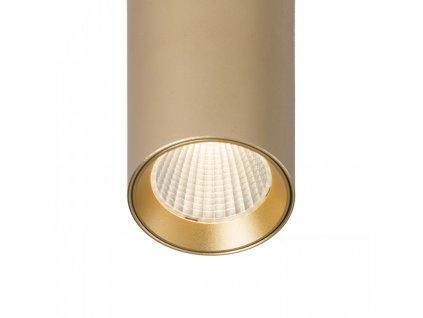 MAVRO závěsná zlatá 230V LED 12W 38° 3000K - RED - DESIGN RENDL